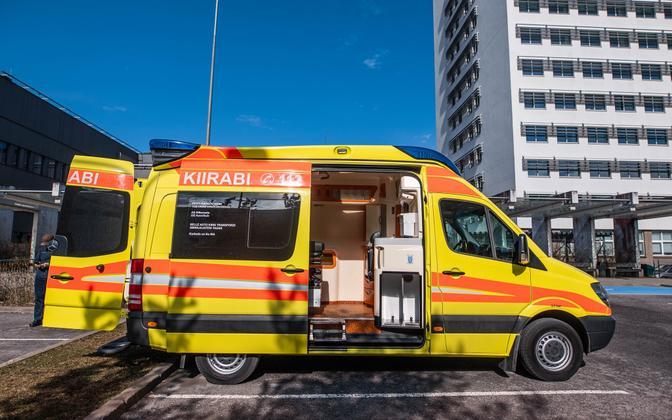 PERH ambulance.