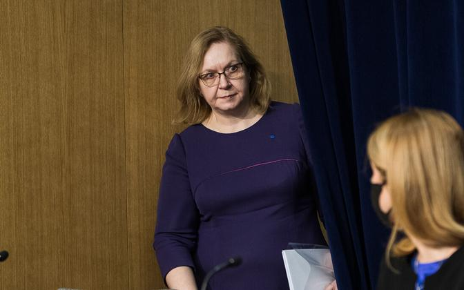 Minister  of Justice Maris Lauri (Reform).