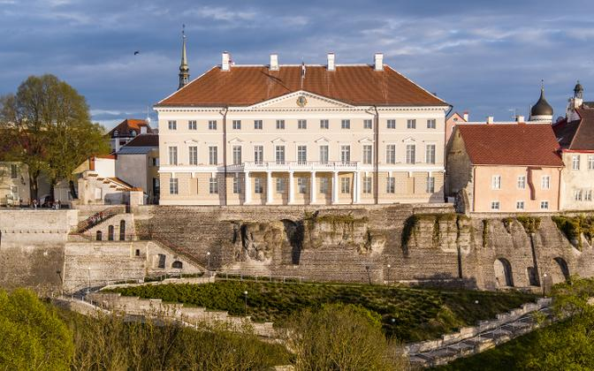 Stenbock House, seat of the Estonian government.