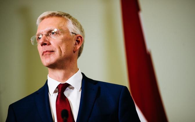 Latvian prime minister Krišjanis Karinš.
