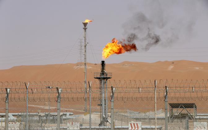 Aramco tootmisüksus Saudi-Araabias.