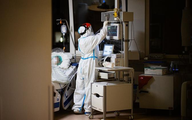 Лечение пациентов с коронавирусом в Литве.