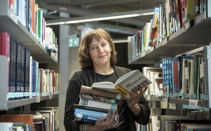 Tallinna Ülikooli humanitaarteaduste instituudi eesti keele professor Reili Argus.