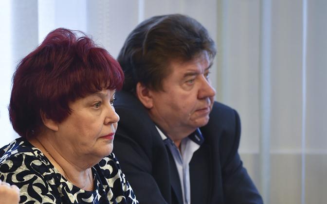 Татьяна Стольфат, Галина Вологдина и Владимир Бутузов.