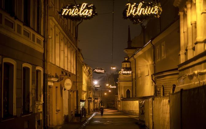 Vilniuse vanalinn.