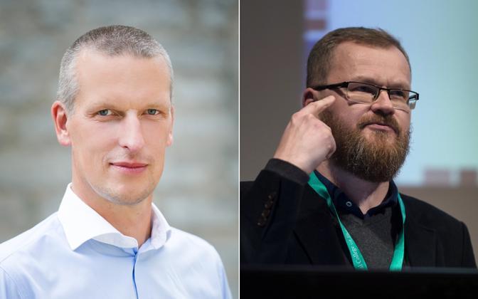 Viljam Borissenko ja Lauri Beekmann