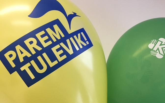 Reformierakonna toetus märtsis veidi langes ja Keskerakonna oma tõusis.