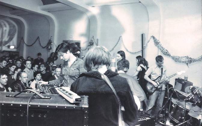 Stereolab 1994. aastal Londonis.