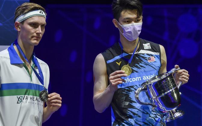 Victor Axelsen ja Lee Zii Jia