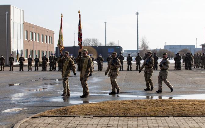 Tapa NATO base (photo is illustrative).