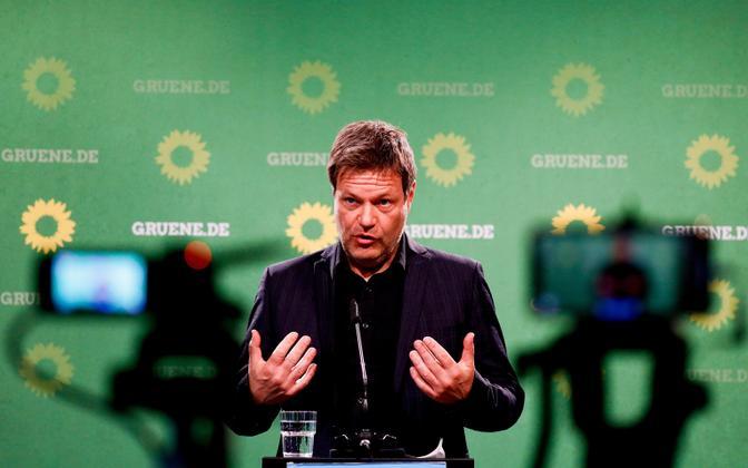 Saksamaa roheliste kaasesimees Robert Habeck