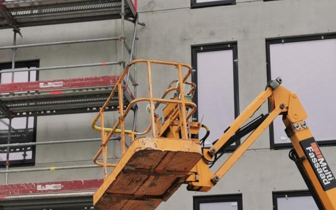 Construction work in progress (photo is illustrative).