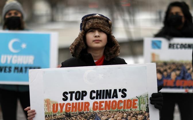 Protest Hiina vastu