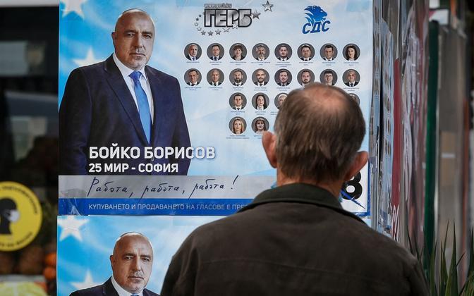Bojko Borisovi valimisplakat.