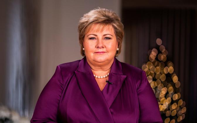 Norra peaminister Erna Solberg