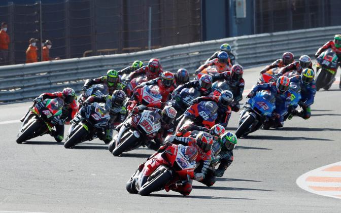 MotoGP sõitjad