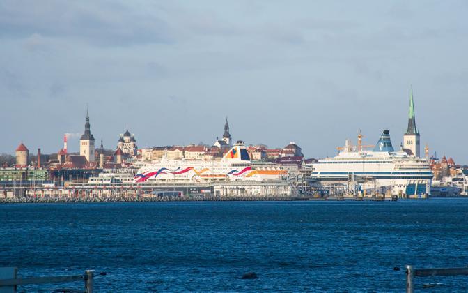 Tallinn port.