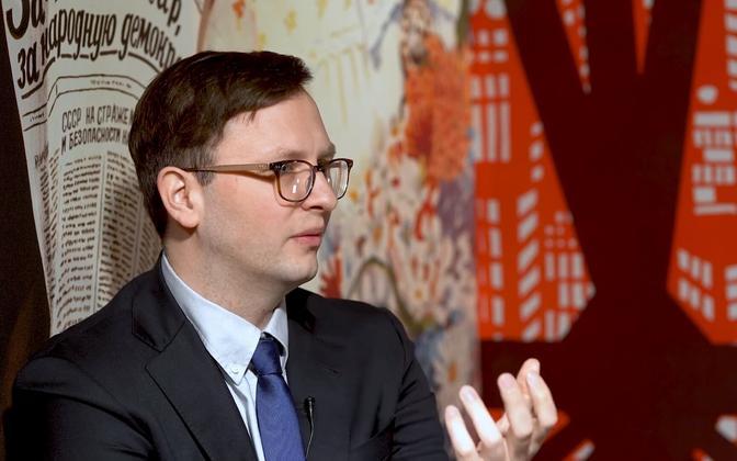Eesti Välispoliitika Instituudi teadur Frank Jüris Vabamus.