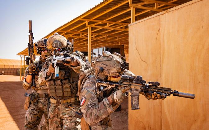 Estonian Special Operations Forces platoon in Mali