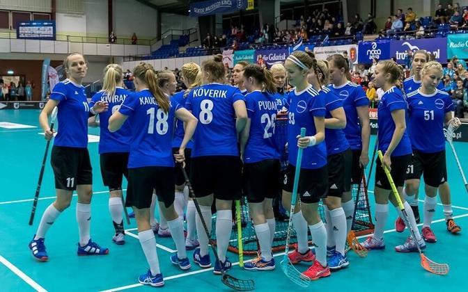 Женская сборная Эстонии по флорболу.