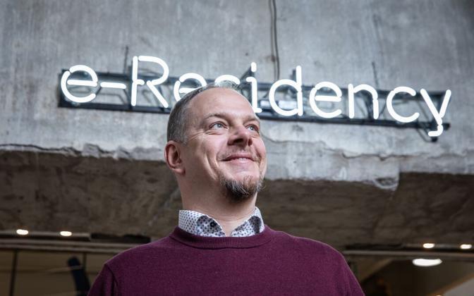Lauri Haav, head of the e-Residency scheme.