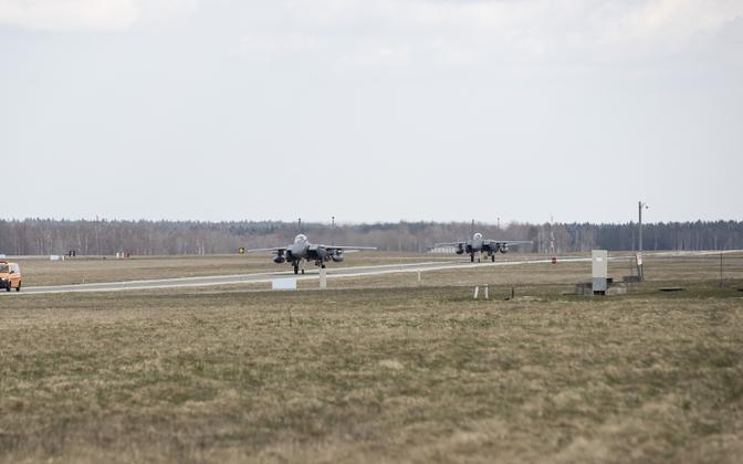 Аэродром в Эмари.
