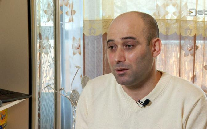 Mohammed Dibou on Wednesday's edition of 'Pealtnägija'.
