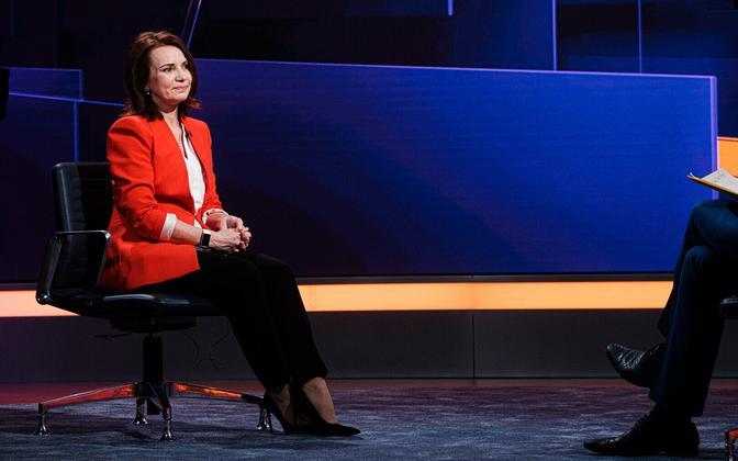 Министр финансов Кейт Пентус-Розиманнус.