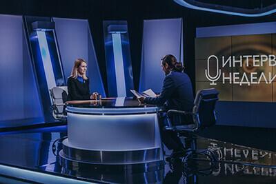 Премьер-министр Эстонии Кая Каллас в передаче