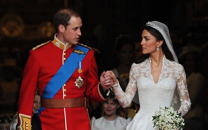 Свадьба принца Уильяма и Кейт Миддлтон, 2011 год.