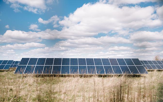 Mäo solar farm.