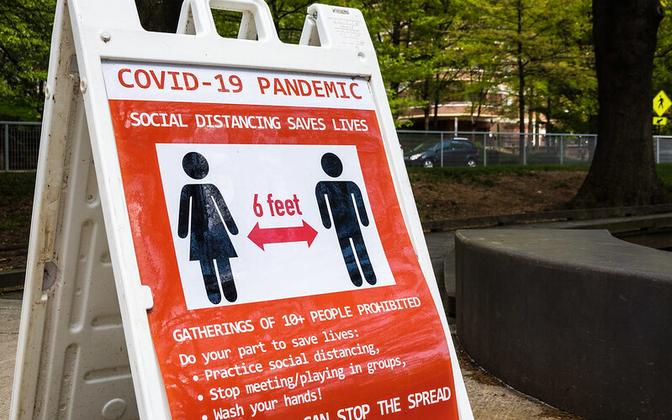 Коронавирус в США.