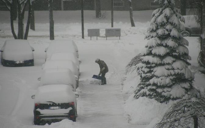Eakas mees lund rookimas