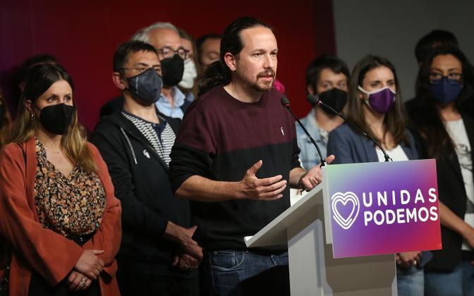 Hispaania endine asepeaminister Pablo Iglesias