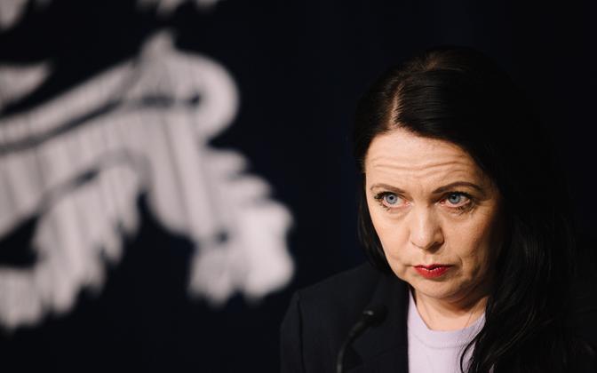 Kultuuriminister Anneli Ott.