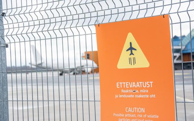 Tallinn Airport perimeter.