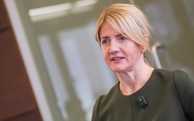 Minister of Foreign Affairs Eva-Maria Liimets.