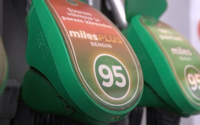 В Таллинне цены на топливо по-прежнему самые высокие среди столиц стран Балтии.