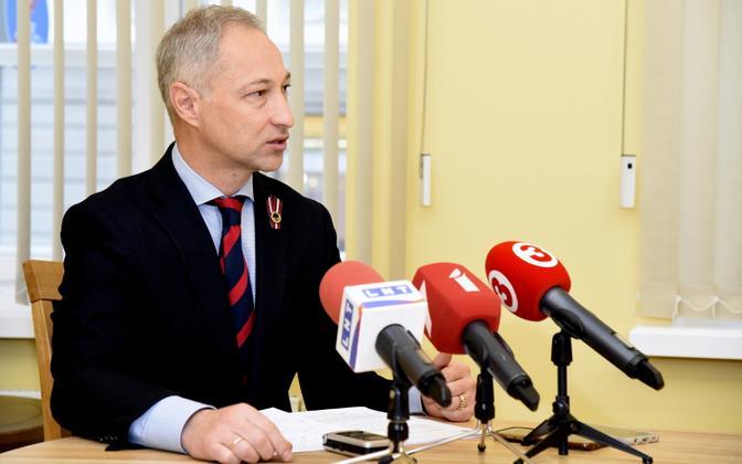 JKP esimees Janis Bordans