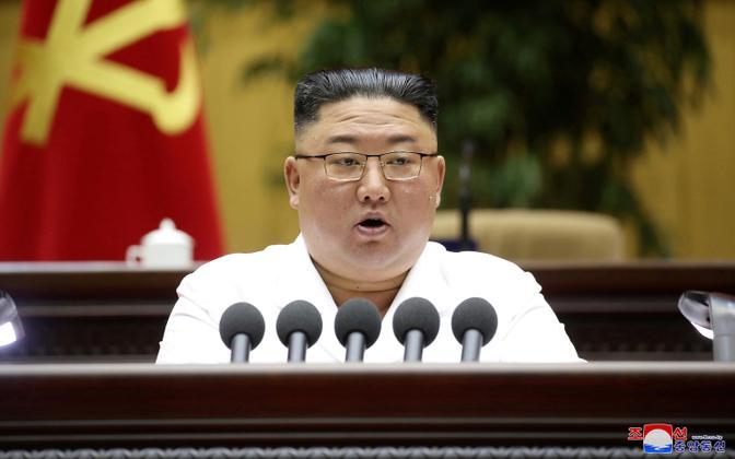 Põhja-Korea liider Kim Jong Un