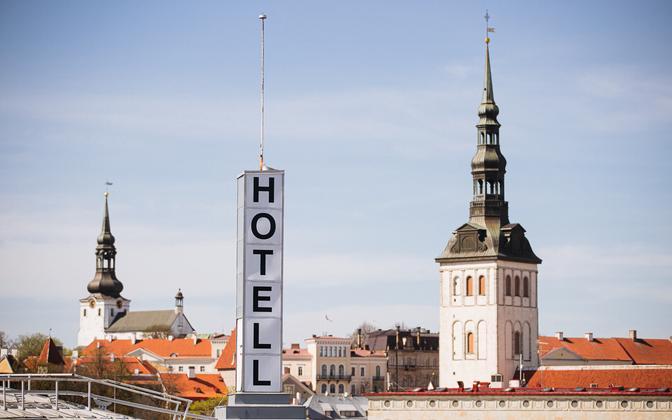 A hotel in Tallinn.