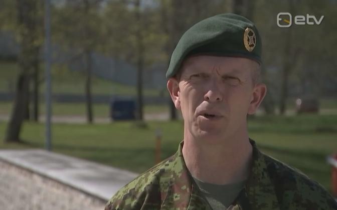 EDF commander Lt. Gen. Martin Herem talking to AK Tuesday.