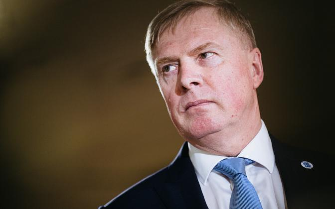 Minister of Defense Kalle Laanet (Reform).