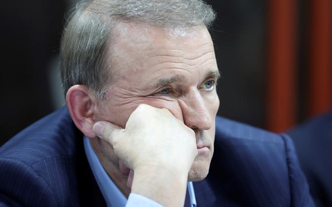 Viktor Medvedtšuk Kiievi kohtus