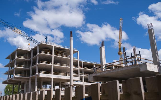 Porto Franco construction-in-progress as it looked last June.
