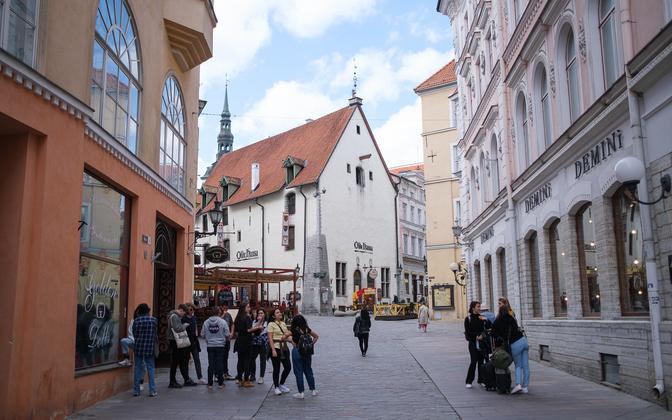 Tallnn Old Town.