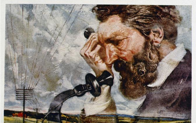 AT&T asutaja oli Alexander Graham Bell