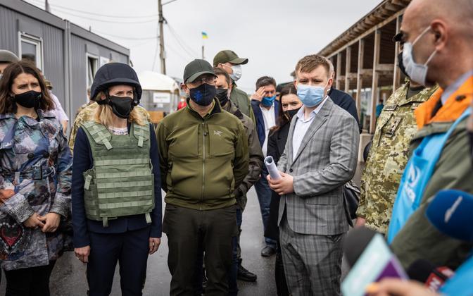 Кая Каллас посетила восток Украины.