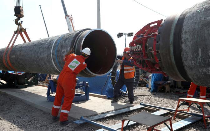 Nord Stream 2 torujuhe