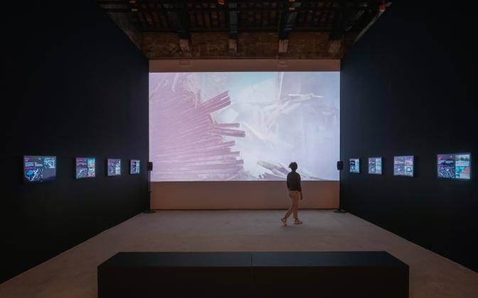 Eesti paviljoni näitus Veneetsia arhitektuuribiennaalil